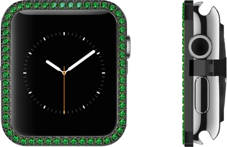 Emeralds Black Stainless Bezel