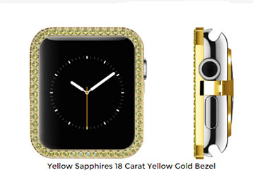 Four Trendy Apple Watch Bezels You Should Try On